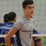 ثبت رکوردی بی نظیر برای والیبال ایران و نابغه والیبال آذربایجان