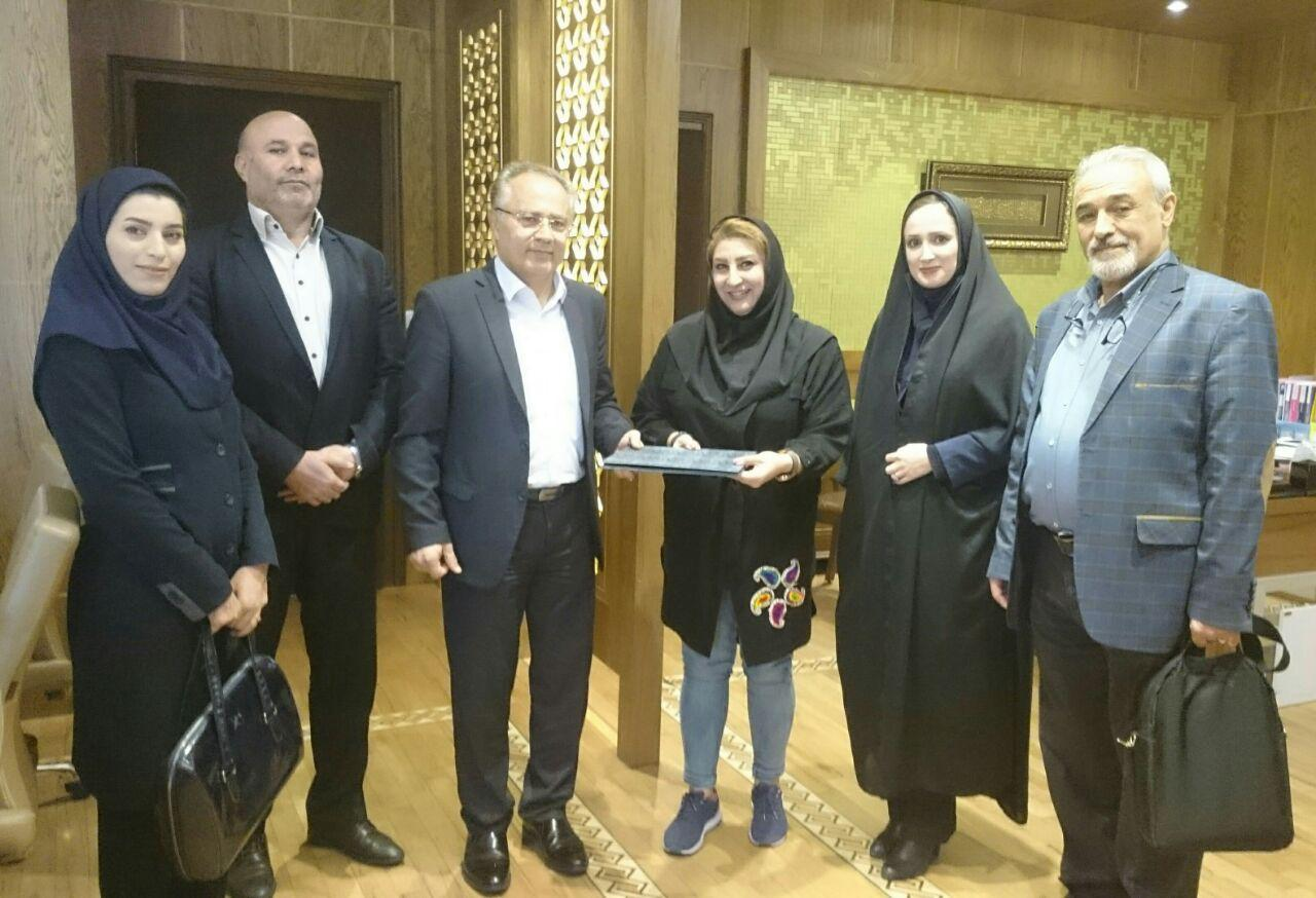 انتصاب دکتر عباسپور به عنوان مدیر روابط عمومی هيئت اسکواش آذربايجان شرقي