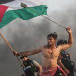 عکس که به سمبل جدید مقاومت مردم فلسطین تبدیل شد