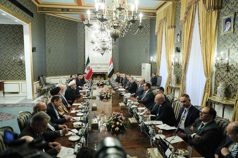امنیت کامل و توسعه عراق به نفع دو کشور و منطقه است