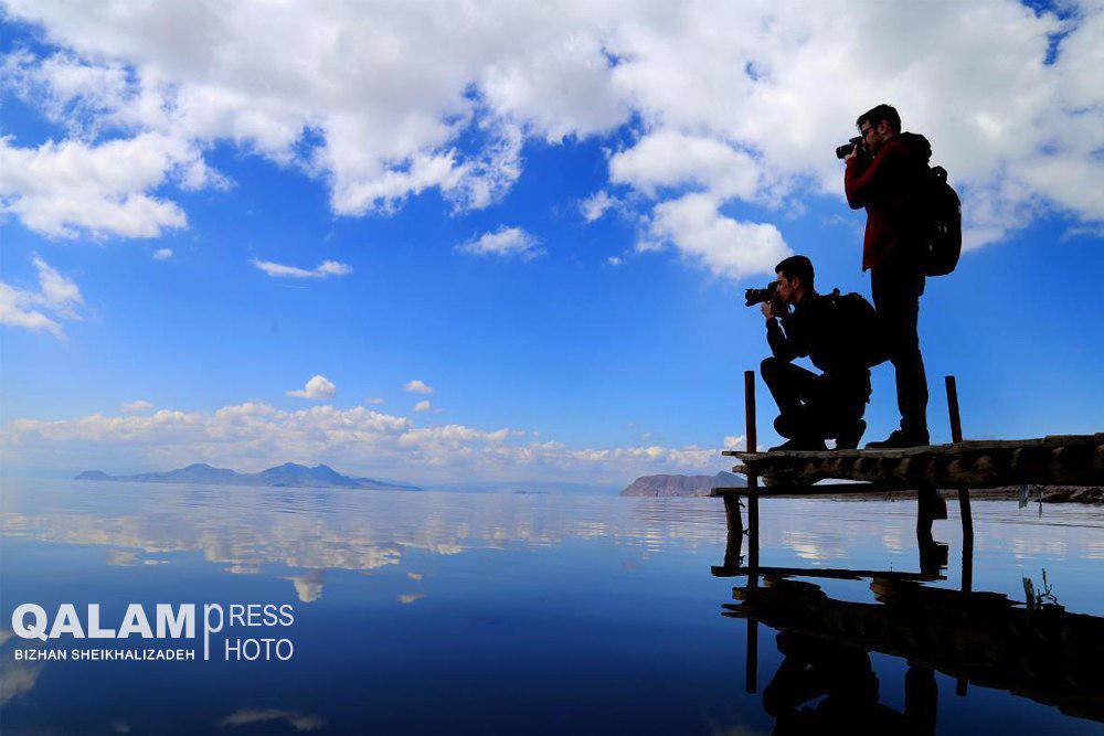 دریاچه ارومیه ۵۱۷ کیلومترمربع بزرگ شد