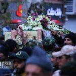 شهدا مظهر قدرت ایران اسلامی هستند + گزارش تصویری