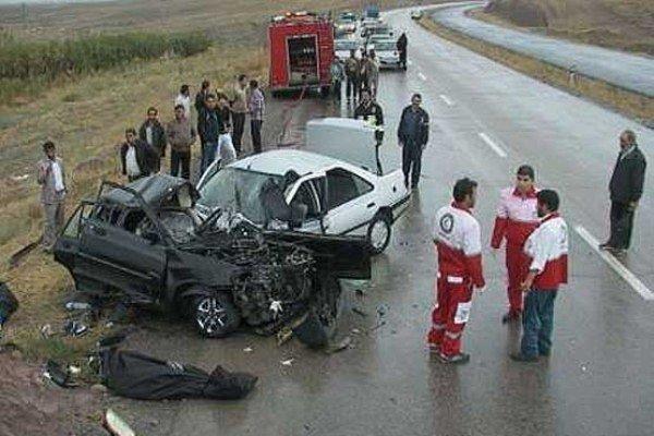 بیشترین میزان تصادفات جادهای در روزهای جمعه و یکشنبه رخ می دهد