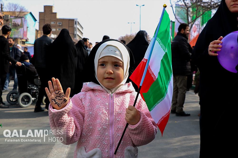 حماسه شکوه چهل سالگی انقلاب / گزارش تصویری