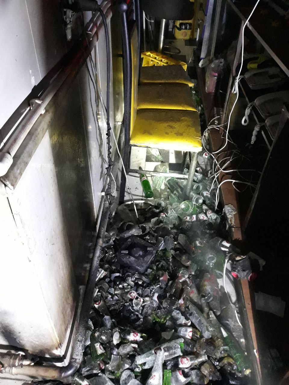آتش سوزی رستوران در راسته کوچه / قبل از خروج از محل کار، از قطع انشعابات گاز اطمینان حاصل کنید