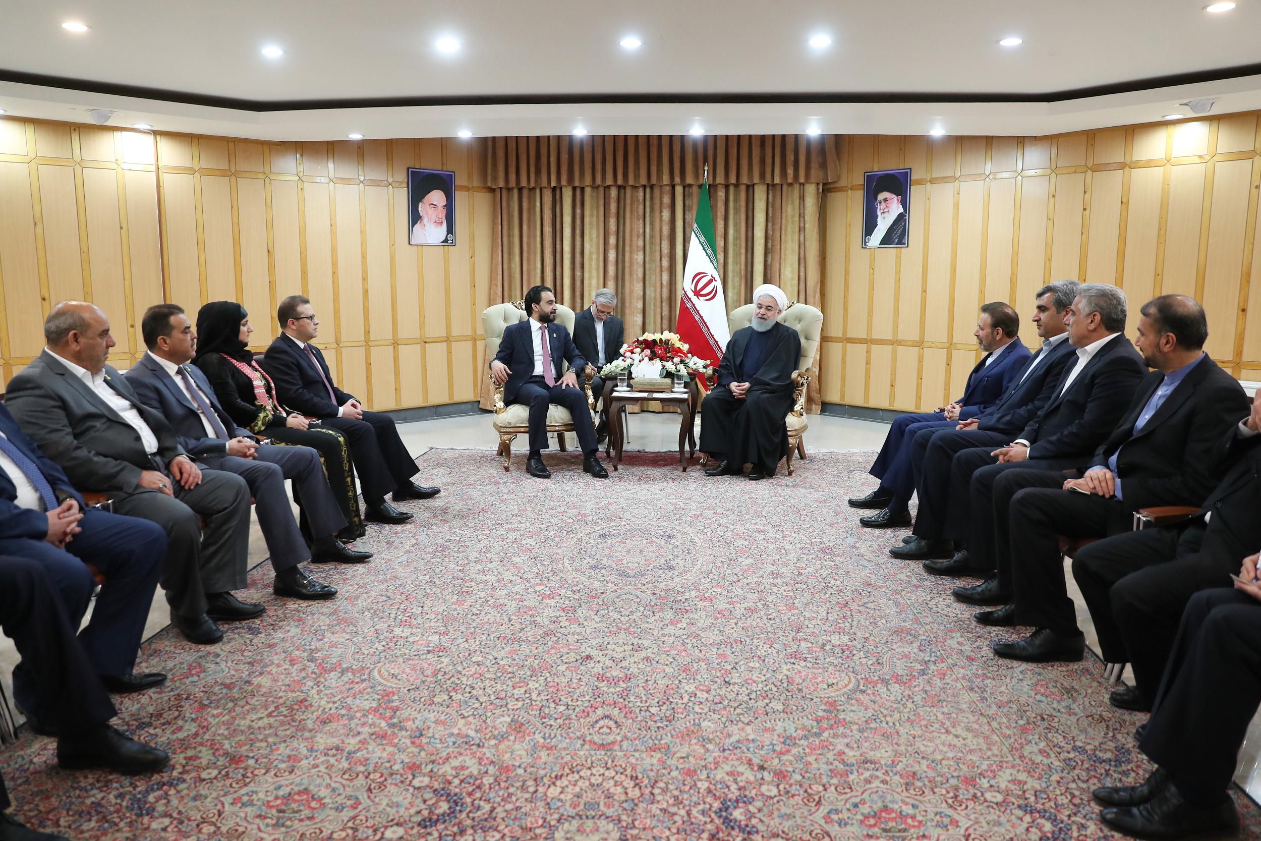 تهران در همه زمینهها آماده توسعه همکاری با بغداد است