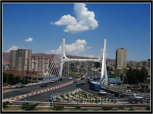پل کابلی از سمت ضلع شرقی تعریض می شود