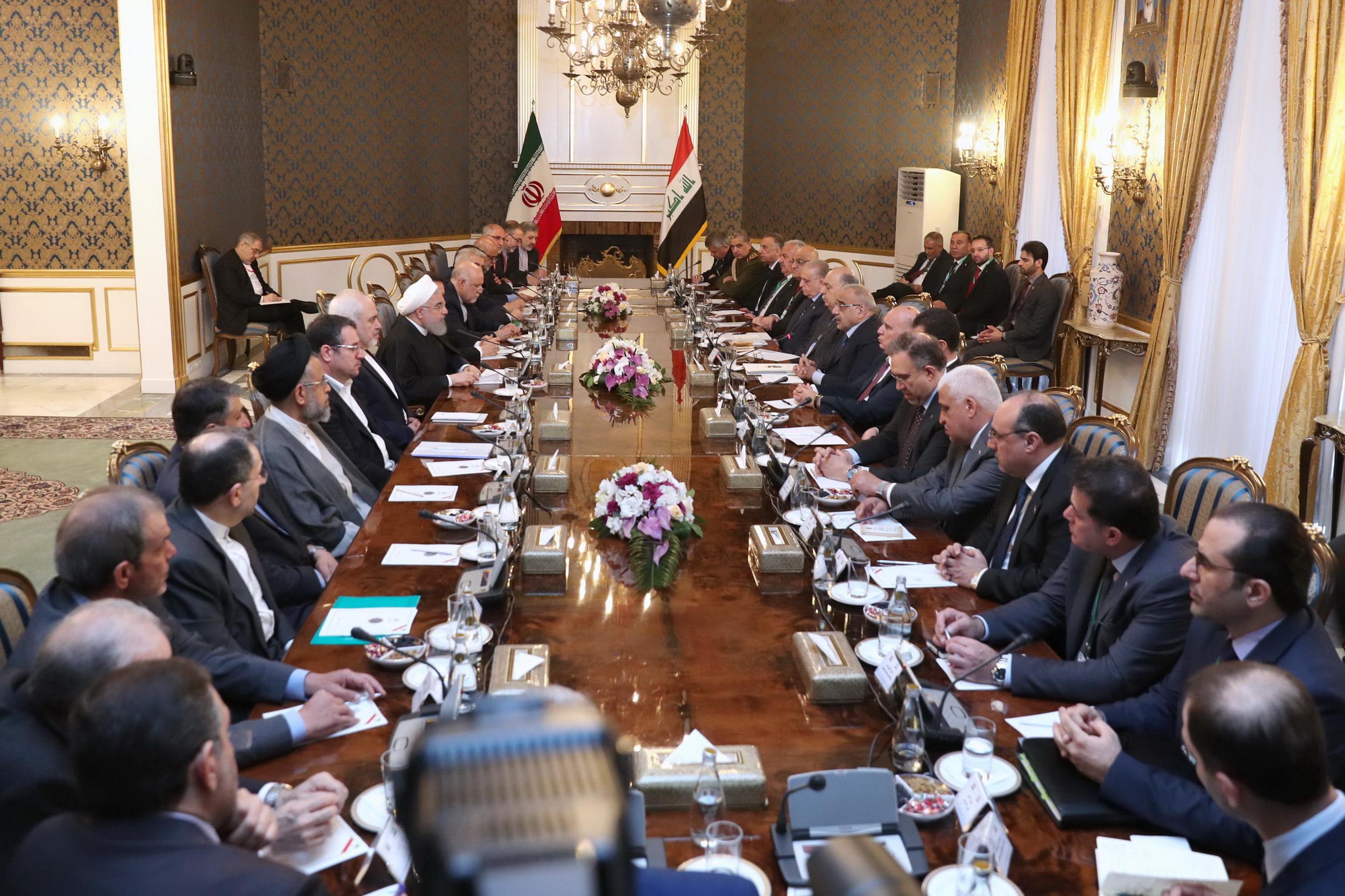 اراده ایران و عراق، برقراری و استمرار ثبات و امنیت در سرتاسر منطقه است