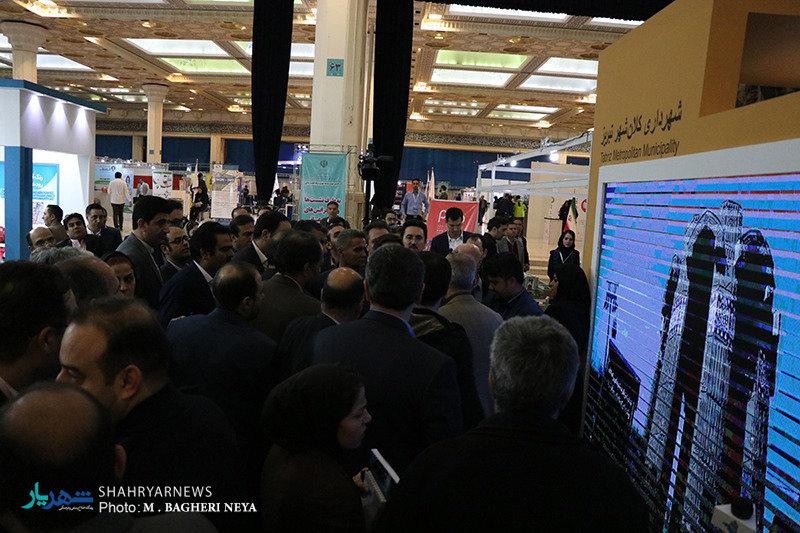 استقبال چشمگیر از غرفه شهرداری تبریز در نمایشگاه مسکن، شهرسازی و بازآفرینی شهری