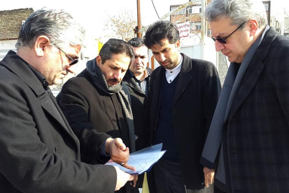 بازدید شهردار تبریز از ایستگاه مترو میدان ساعت