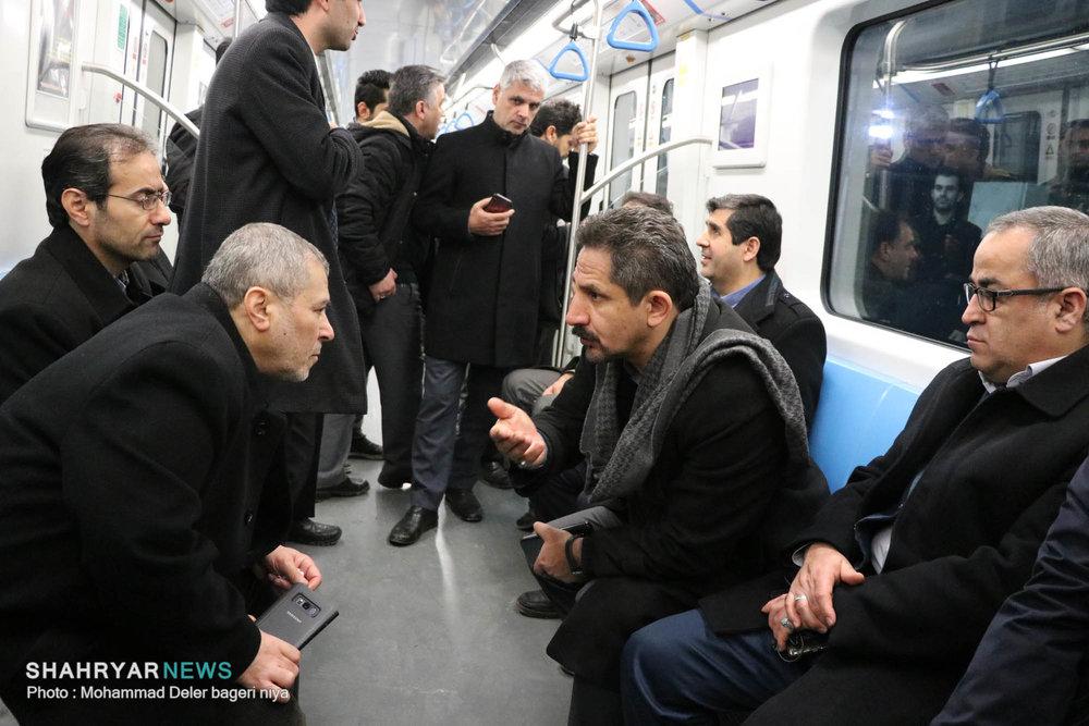 افزایش ساعات خدمات رسانی قطارشهری به مناسبت سالروز قیام تاریخی ۲۹ بهمن
