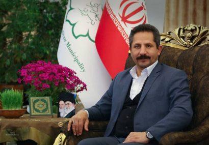 شهردار تبریز فرا رسیدن سال نو را تبریک گفت