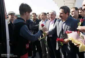 خیر مقدم شهردار تبریز به میهمانان نوروزی