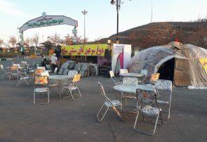 کمپ گردشگری و مرکز اطلاع رسانی در پارک جنگلی یادگار امام (ره) دایر شد