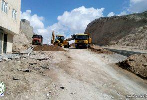 عملیات خاکی اصلاح فضای سبز منطقه ۳ انجام می گیرد