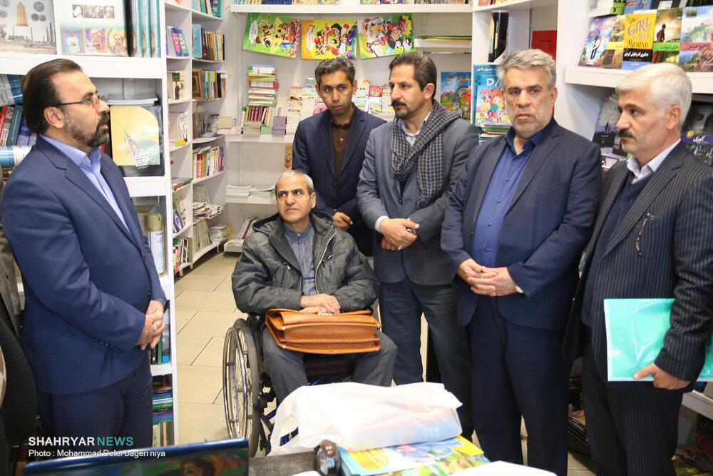 روز کتاب خوانی و دیدار از کتابفروشی های تبریز
