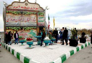 استقبال بیش از ۷هزار نفر از ستاد نوروزی شهرداری منطقه۴ تبریز