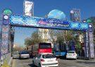 نصب طاق نصرت در نقاط مختلف تبریز/ آذین بندی شهر به مناسبت نیمه شعبان