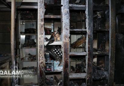 قلب تاریخ تبریز پس از آتش