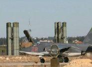 سرنگونی راکت های شلیک شده به پایگاه هوایی حمیمیم سوریه قبل از برخورد به هدف