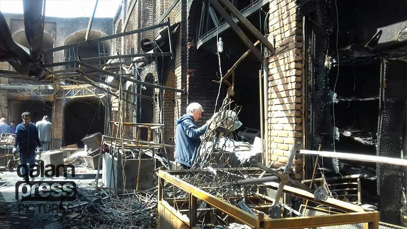 آتش در نیستان ایکی قاپیلار