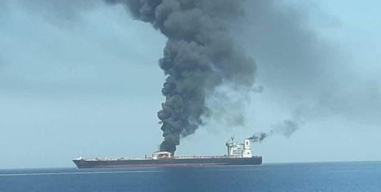 سیانان: حادثه دریای عمان ناشی از مین بوده است