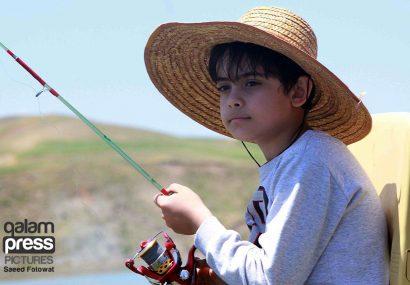 جشنواره ی ماهیگیری در سد سهند (۲)