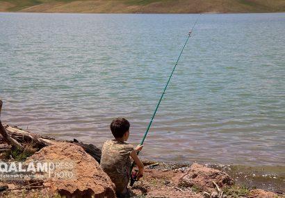 جشنواره ی ماهیگیری در سد سهند