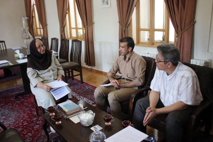 دکتر مهری باقری، رییس بنیاد پژوهشی شهریار