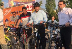 وجود مسیر ایمن دوچرخه سواری در شهر حق مردم است