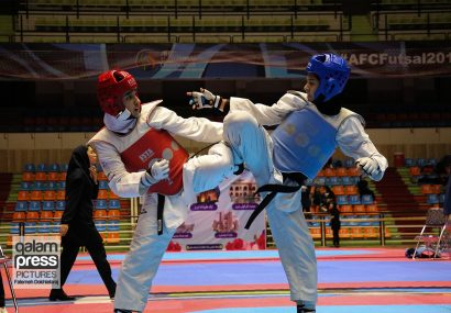 مسابقات تکواندو قهرمانی جوانان و بزرگسالان کشور – گروه بانوان