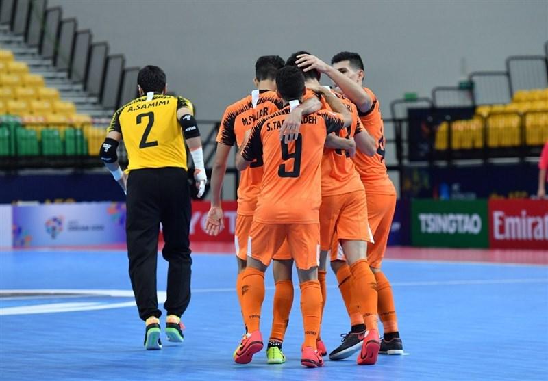 مس سونگون راهی نیمهنهایی جام باشگاههای فوتسال آسیا شد
