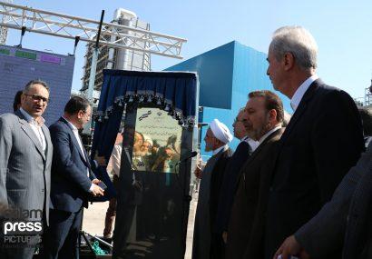 فاز نخست نیروگاه سیکل ترکیبی هریس افتتاح شد