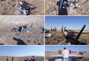سقوط هواپیمای آموزشی در سمنان + جزییات
