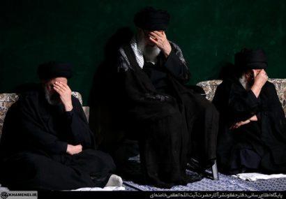 مراسم عزاداری شب عاشورای حسینی علیهالسلام در حسینیه امام خمینی(ره)