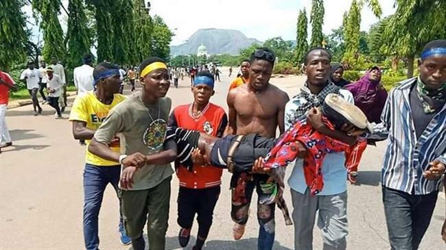 شهادت ۱۲ نفر در حمله نیروهای دولتی به عزاداران شیعه نیجریه
