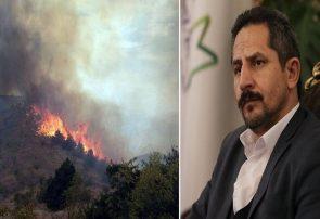آتش نشانان تبریز برای اطفای حریق جنگل های ارسباران اعزام شدند