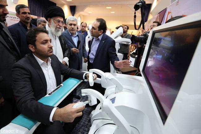 جلوه درخشان استعداد ایرانی و همت انقلابی را در این نمایشگاه دیدیم