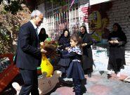 یک وعده غذای گرم سر سفره روستامهدهای استان