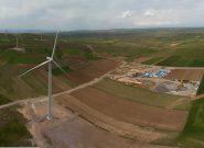 افتتاح نیروگاه بادی ۵۰ مگاواتی آقکند در میانه