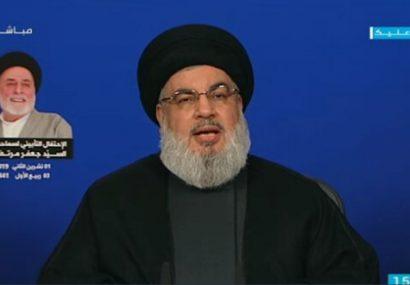 سید حسن نصرالله: نباید اجاز دهیم خواسته برخی برای درگیری داخلی محقق شود