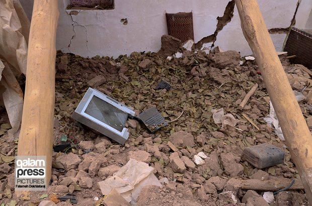 حال مردم منطقه زلزله زده ورنکش این روزها