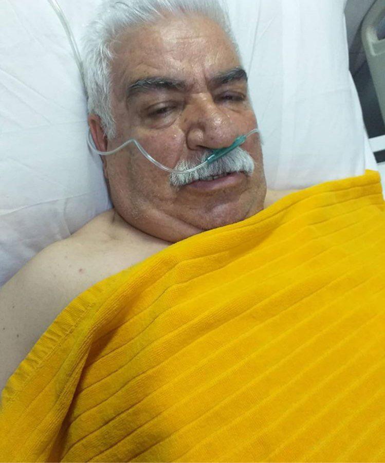 هنرمند طنزپرداز آذربایجان در بیمارستان بستری شد