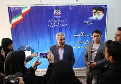 نام نویسی ۶۳ نفر برای انتخابات مجلس در تبریز در پایان سومین روز