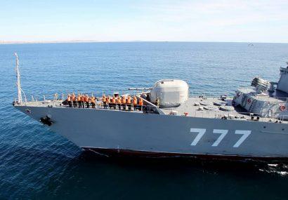 پیام رزمایش مرکب ایران، روسیه و چین امنیت دریایى است