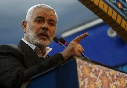 اسماعیل هنیه: شهید سلیمانی، این فرمانده بزرگ شهید قدس است