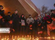اجتماع مردم مقابل دانشگاههای امیرکبیر، شریف و تهران