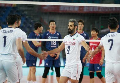 معروف: تیم ایران ترکیبی از بازیکنان باتجربه و جوان است