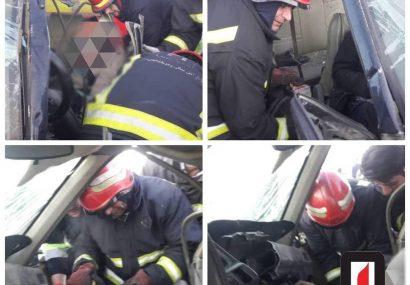 تصادف مرگبار در جاده آرپادره سی