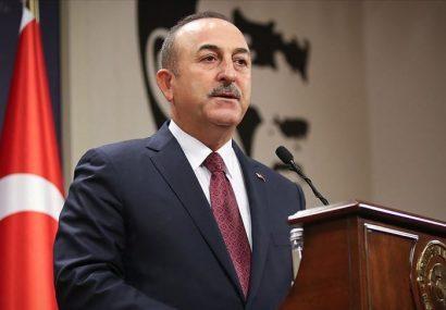 وزیر امور خارجه ترکیه به ایران سفر می کند